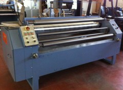 Used gluing roller machine